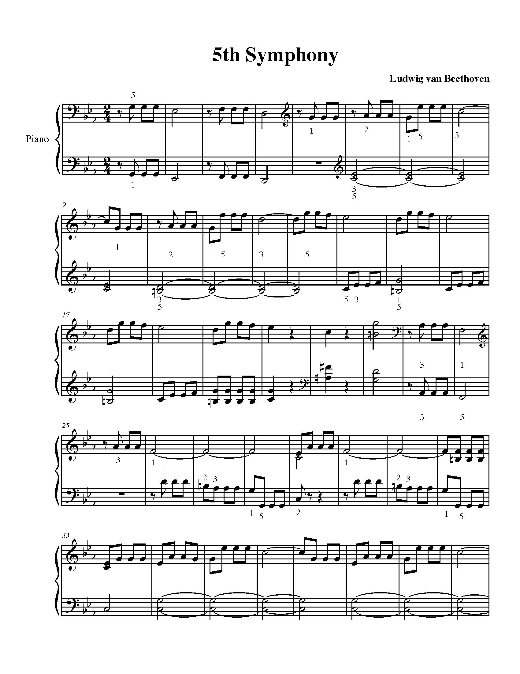 5Th Symphony beethoven's 5th symphony l2 - suzan stroud